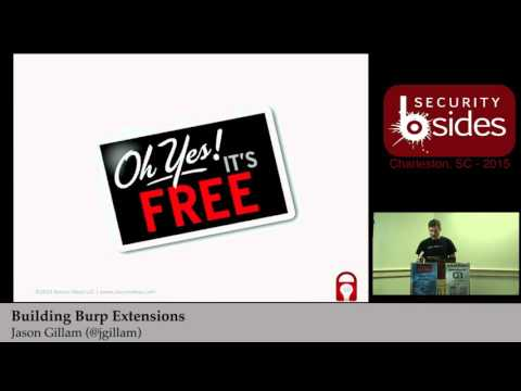 Building BURP Extentions - Jason Gillam