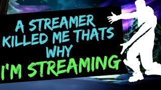 Someone killed  me on livestream that's why I'm streaming   | Fortnite Battel Royale