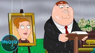Video Top 10 Saddest Moments on Family Guy MP3, 3GP, MP4, WEBM, AVI, FLV Mei 2019