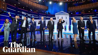 US election 2020: highlights from second night of Democratic debates