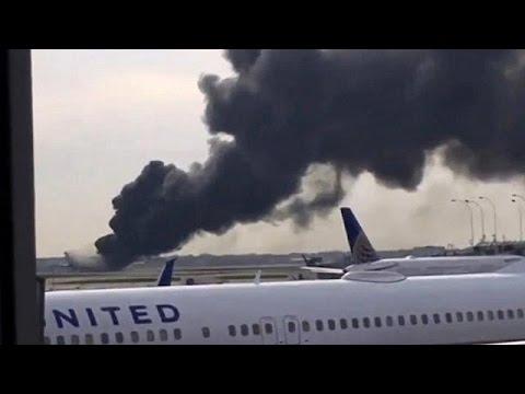 ΗΠΑ: Φλεγόμενα αεροσκάφη – world