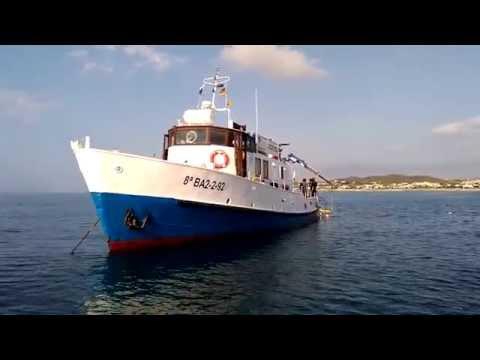 El Club Nàutic Garraf a la recerca del galió enfonsat (1)