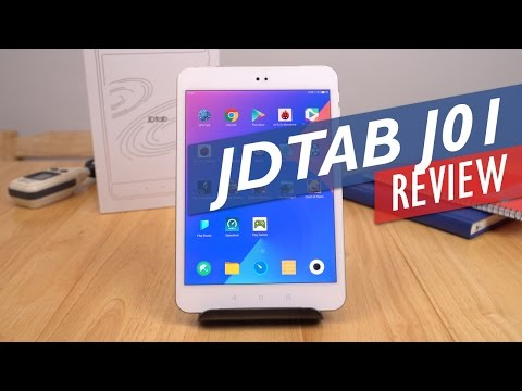 JDTab J01 Review - Android 6.0 Retina Tablet With Harman Kardon Audio