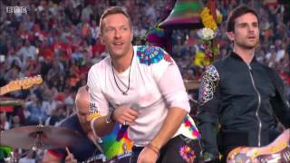 The SuperBowl 50 Halftime Show (Feb 7th, 2016) in a version featuring only Coldplay. This is a shoutout to all Coldplay fans - I...