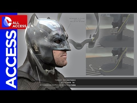 Batman v Superman Secrets: Tech Cowl, Grappling Gun and Batarang