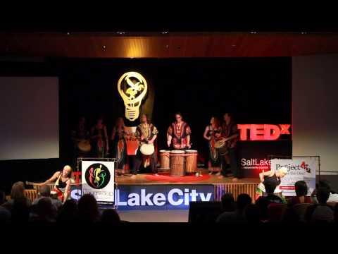 African drum and dance | Africa Heartwood Project | TEDxSaltLakeCity