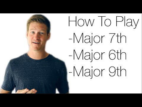 Guitar Lesson: Major 7th, 6th and 9th Chords – Jesse Lane Guitar Lessons