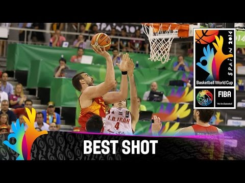 Shot - Watch Sergio Rodriguez's layup for Spain v Iran. The 2014 FIBA Basketball World Cup will take place in Spain from 30 August - 14 September and will feature the best international players from...