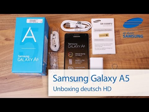 samsung - Wir haben uns das Samsung Galaxy A5 in einem ersten Unboxing auf deutsch genauer angeschaut. Der Lieferumfang ist klassisch, der erste Eindruck des Samsung Galaxy A5 ist sehr gut, ein extrem...