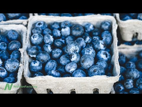 Nutrition - Benefits of Blueberries for Artery Function