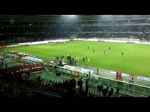 Ultras Torino festeggiano la squadra