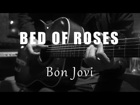 Bed Of Roses - Bon Jovi ( Acoustic Karaoke )