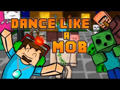 Dance like a Mob (minecraft animation)