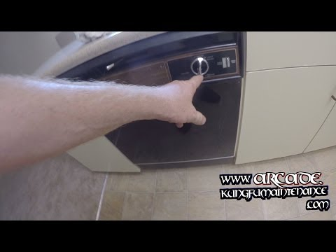 Dishwasher Motor Hums Buzzes But Won't Start Run How To Unstick Stuck Impeller Repair Video