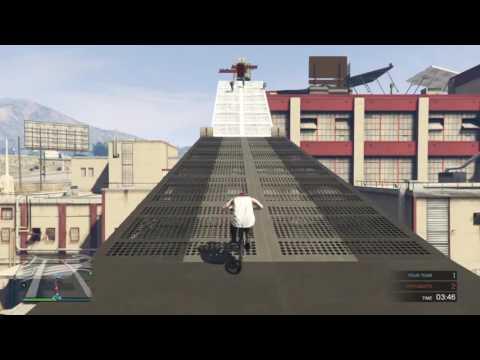 PRO GTA Online Deathmatch 152- [: BMX PARKOUR :] (видео)