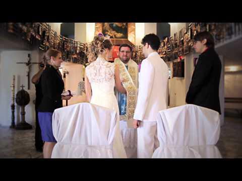 Ceremonia ślubu i pierwszy taniec Angeliki i Tobiasa
