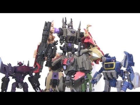 optibotimus - Video Review of the 2012 SDCC Exclusive: Bruticus Swindle's review - 05:43 Brawl's review - 14:44 Onslaught's review - 24:03 Blastoff's review - 36:00 Vortex...