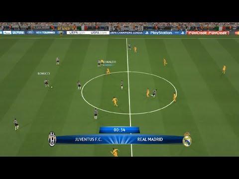 Pes 2014 Gameplay Video Juventus vs Real Madrid Uefa 0-1 Champions League 05 11 2013