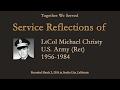 TWS Veteran Interview: LtCol Michael Christy, U.S. Army  (Ret) (1956 -1984)