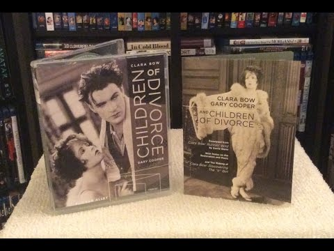 Children Of Divorce 4K Restoration BLU RAY UNBOXING And Review - Clara Bow