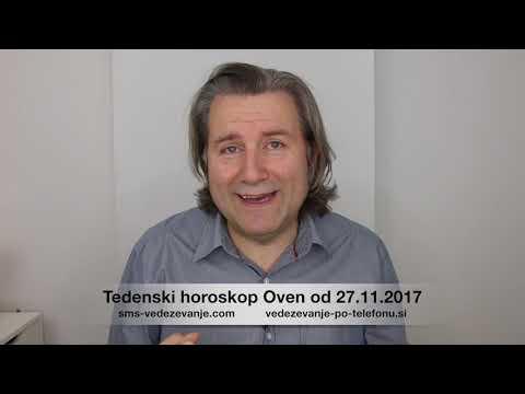 Теденски хороскоп Овен од 27.11.2017