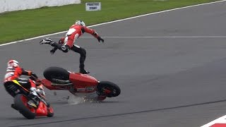 Video MotoGP™ Silverstone 2014 – Biggest crashes MP3, 3GP, MP4, WEBM, AVI, FLV November 2017