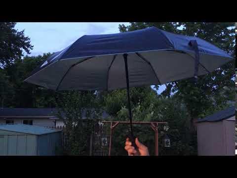 Compact Travel portable Vinyl Automatic Umbrella