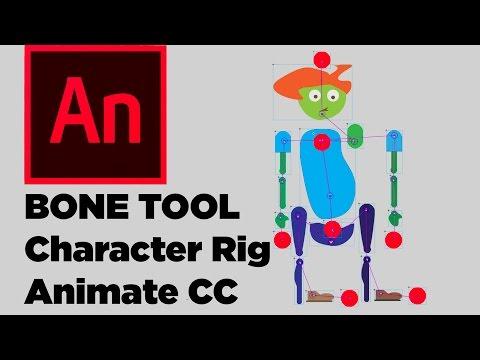 Bone Tool Animate CC Character Rigging Tutorial