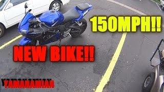 8. *NEW BIKE!! Yamaha R6 150MPH!!