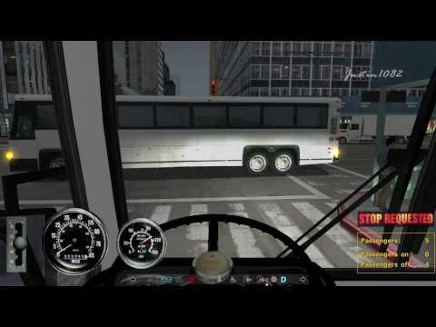 [HD] City Bus Simulator Gameplay