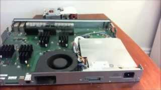 How to replace a faulty power supply on a Cisco 3560G switch.