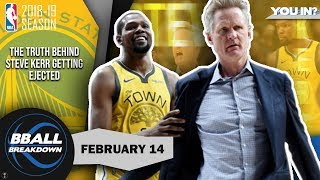 Video Kerr Gets Himself Ejected Once Trail Blazers Solve The Warriors MP3, 3GP, MP4, WEBM, AVI, FLV Maret 2019