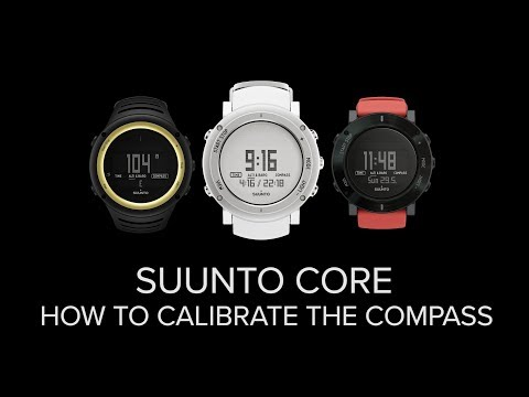 Suunto Core - How to calibrate the compass