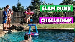 Don't forget to subscribe! http://www.youtube.com/theweisslifeIn today's family vlog - We play the Dunk Hat game and have a fun slam dunk challenge in our swimming pool!*Follow us on Instagram, Facebook and Twitter to stay up to date on our family and the new baby!Instagram: http://www.instagram.com/theweissfamFacebook: http://www.facebook.com/theweisslifeTwitter: http://twitter.com/TheWeissLifeMusical.ly: The Weiss LifeVideo filmed with: Canon PowerShot G7 X Mark II http://amzn.to/2iPmFMO (Affiliate link)Support us on Patreon: https://www.patreon.com/theweisslifeSend Us Mail!The Weiss Life69 Lincoln Blvd. Suite-A #267Lincoln, CA 95648THE WEISS LIFE is a fun family vlog channel that features the Weiss family! We do fun Challenges, Giveaways, Family Vlogs, Mommy & Pregnancy Vlogs, Build A Bear, Toys, Holidays like Halloween, Christmas & Easter, Birthday Parties, Gymnastics, Sidewalk Super Girls Superhero Skits, Costume Fashion Shows, videos from our Travel Adventures and other Family Fun!Production Music courtesy of  www.epidemicsound.com