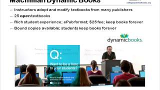 Open Textbooks Put Community College Instructors in Charge of Textbook Content and Cost