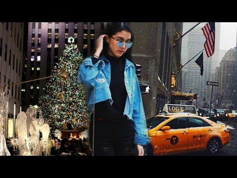 Почувствуй Нью-Йорк в Рождество...
