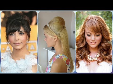 Short hair styles - Top 20  wedding hairstyles for short hair with fringe