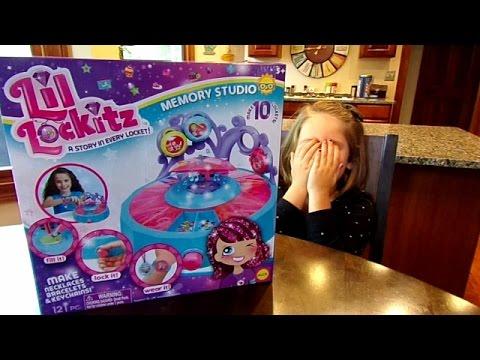 Lil Lockitz Memory Studio-Chloe's Toy Time (видео)