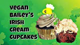 Vegan Baileys Irish Creme Cupcakes|| Gretchen's Vegan Bakery by Gretchen's Bakery