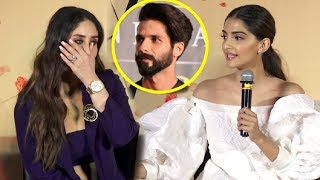 Video Kareena Kapoor SHOCKING Reaction When Sonam Kapoor Takes Shahid Kapoor Name MP3, 3GP, MP4, WEBM, AVI, FLV Juni 2018