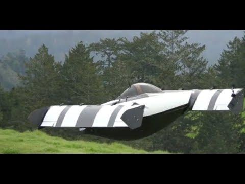 Мультикоптер BlackFly  - прототип летающего электромобиля. онлайн видео