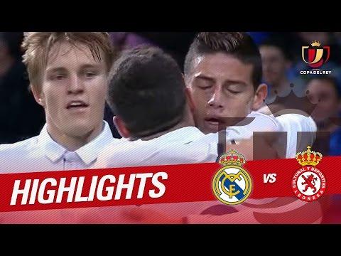Resumen de Real Madrid vs Cultural Leonesa (6-1)