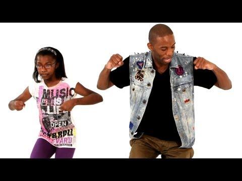 Хип-Хоп от Джефа: движение  Funky Walk. Урок видео обучения.
