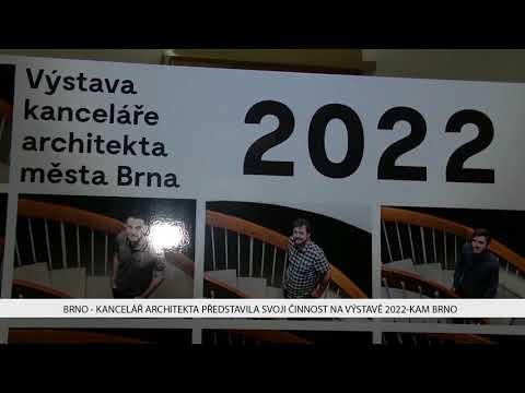 TV Brno 1: 2.11.2017 Kancelář architekta představila svoji činnost na výstavě 2022 KAM Brno