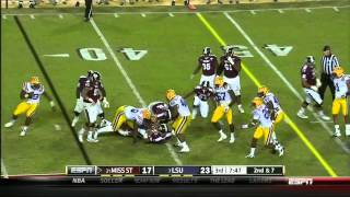 Kevin Minter vs Mississippi State (2012)