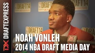 2014 Noah Vonleh Interview - DraftExpress - NBA Draft Media Day
