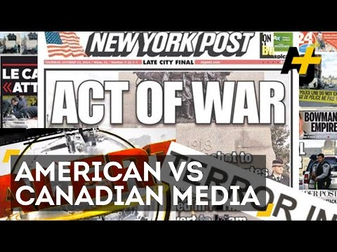 media - A tragedy in Ottawa, Canada shows us just how different US and Canadian media are. Download the AJ+ app at http://www.ajplus.net/ Subscribe for more videos: ...
