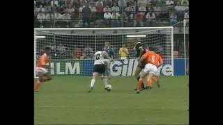 Lothar Matthäus bei der WM 1990