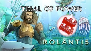 Completing the Trial of Power | Aquaman Event 2018 (Aquaman: Home is Calling) (ROBLOX)