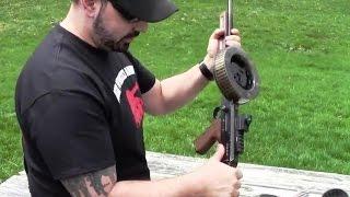 Download Lagu American-180 Full Auto 22lr Submachine Gun AM-180 275 Round Drum Mag Mp3